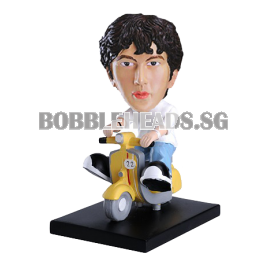 Custom Bobblehead On Scooter
