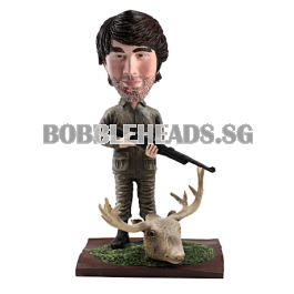 Custom hunter bobble head
