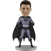 Batman Black And White Personalized Bobblehead