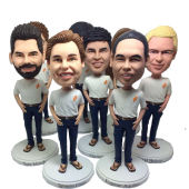 Custom Bobbleheads for Team/Group/Family
