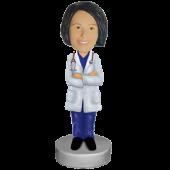 Custom bobble head Female Doctor