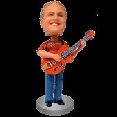 Custom Bobblehead Guitar Man