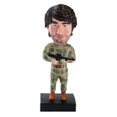 Custom Bobblehead Soldier