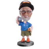 Custom Photographer Bobblehead