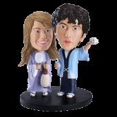 Custom Japanese Couple Bobble Head