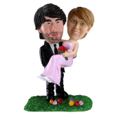 Custom Wedding Bobble Head