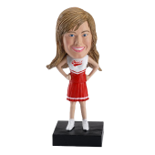 Customised Bobblehead Cheerleader