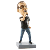 Excited Singer Bobble Head