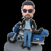 Motorcycle Man Custom Bobblehead