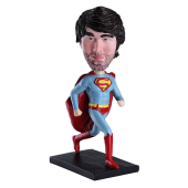 Personalised Bobble Head Superman