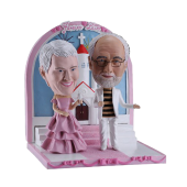 Personalised Wedding Bobble Head