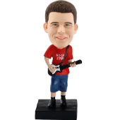 Personalized Guiartist Bobble Head