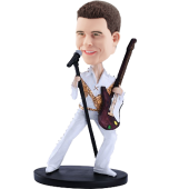 Personalized Guitar Singer Bobble Head