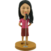 Personalized Singer Bobble Head