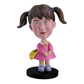 School Girl Custom Bobble head