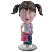 Fashion School Girl Custom Bobblehead