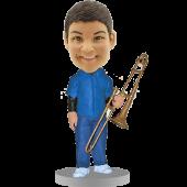 Trombone Player Bobblehead