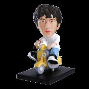 Custom Bobblehead On Scooter