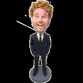 Business Man Personalised Bobblehead