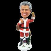 Christmas Man Bobble Head