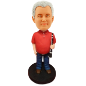Clarinet Player Personalized Bobblehead