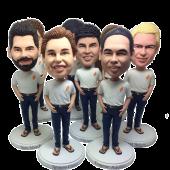 Custom Bobbleheads for Team/Group/Family