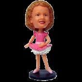Custom Ballet Dancer Bobblehead