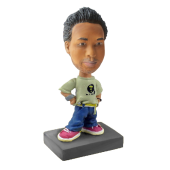 Custom Bobblehead Hiphop Man