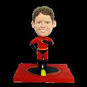 Custom bobblehead Kid Super Hero