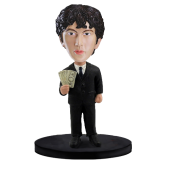 Custom Bobblehead Rich Man