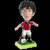 Custom Football bobble head