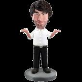 Custom Humorous Business Man Bobble Head
