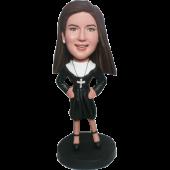 Custom Nun Bobble