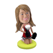 Customized Bobblehead Cheerleader