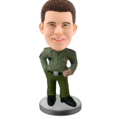 Customized bobblehead military