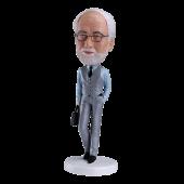 Customized Bobblehead Smart Man