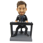 Keyboard Player Custom Bobblehead