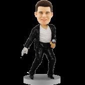 Michael Jackson Style Custom Bobble