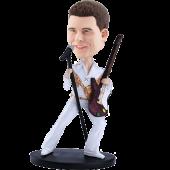 Personalized Guitar Singer Bobble Head