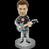 Rock Guitar Player Bobblehead