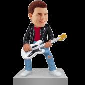 Rock Guitarist Custom Bobble