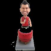 Taiko Drummer Custom Bobble